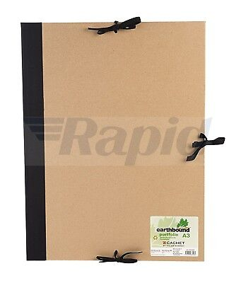 Daler Rowney Cachet A3 Recycled Earthbound Portfolio with Flaps