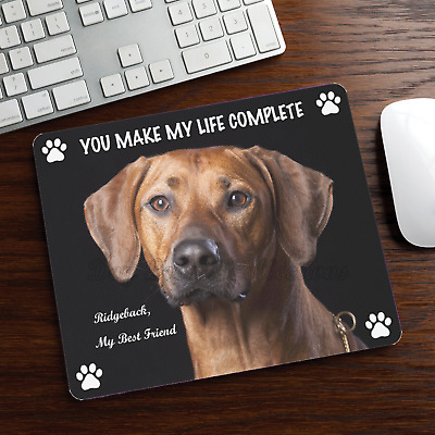 New Design Adorable RHODESIAN RIDGEBACK Dog Puppy Rubber Computer MOUSE PAD Mat