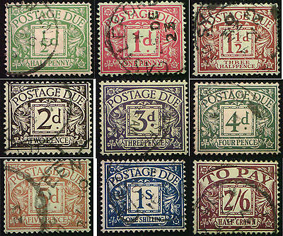 1924 KGV Block Cypher Postage Dues. Choice of stamps.