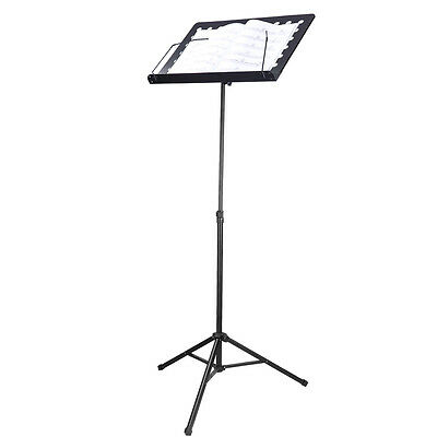 Neewer Deluxe Heavy-Duty Collapsible Orchestra Music Stand-Iron/Black