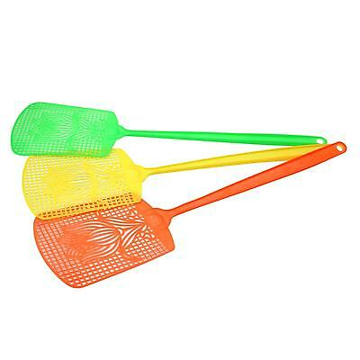 3Pcs Bug Insect Fly Pest Mosquito Swatter Killer Control Racket Fly-swatter Hot