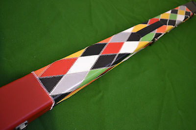 1 Piece Deluxe Design Snooker Cue Case Holds 2 Cues