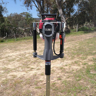 4 Stroke Petrol Powered Star Picket Post Driver 1.5HP 1100W for Farm Fence
