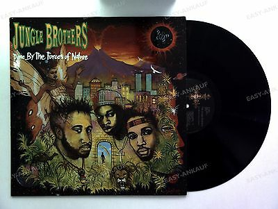 Jungle Brothers - Done By The Forces Of Nature D LP 1989 + Innerbag //3