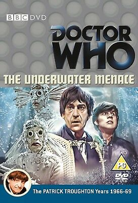 DR WHO 032 (1967) THE UNDERWATER MENACE TV Doctor Patrick Troughton - NEW R2 DVD