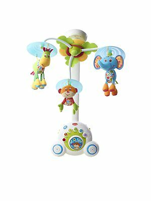 Tiny Love 00467-003 Soothe 'n Groove Baby Mobile, Blue Plays 18 Different Tunes