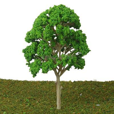 5pcs 15cm Model Mulberry Tree Architecture Train Garden Wargame Park Scenery