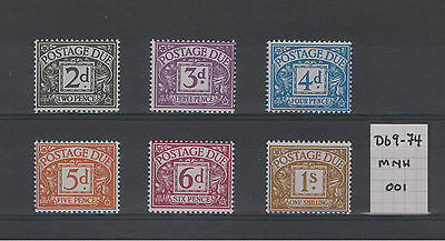 1968 Typo No Watermark Postage Dues. Choice of stamps.