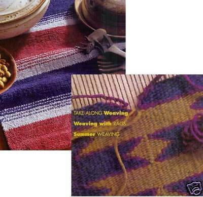 Handwoven magazine may/june 1997: weave with RAGS, poppana