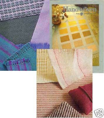 Handwoven magazine sept/oct 1982: TOWELS, RUGS