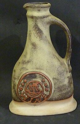 TREMAR UK  stoneware WINE CARAFE/BOTTLE  CORNWALL