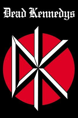 Dead Kennedys - DK Logo Poster - BRAND NEW - 24 x 36 Rolled