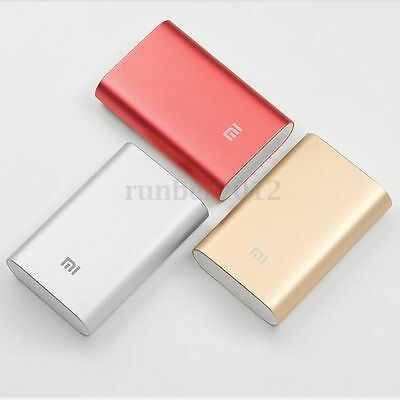 Original Xiaomi 10000MAH BATERIA EXTERNA W/USB CABLE POWER BANK PARA Phones PC