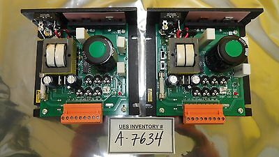 Minarik Automation XL3025A-Q-0942 DC Motor Speed Controller Lot of 2 Used