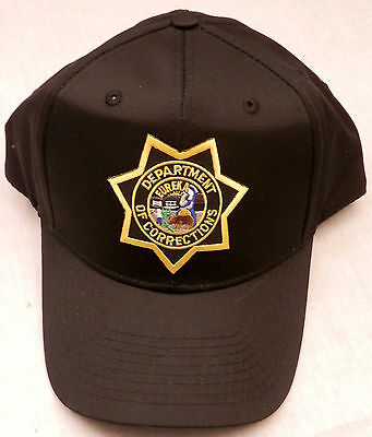 California CA State Department of Corrections CDC baseball cap/hat police DOC