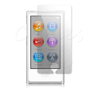 10 x CLEAR LCD SCREEN PROTECTORS COVERS GUARDS FOR APPLE iPOD NANO 7 7G 7TH GEN