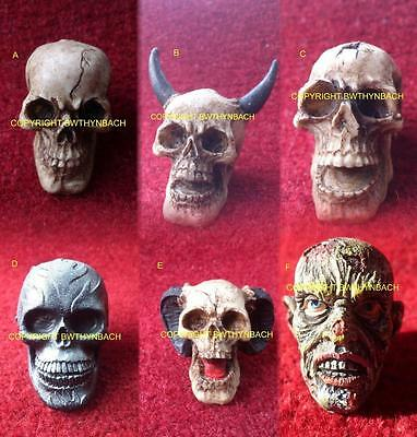 New Designs Latex Mould Molds To Make Detailed Ornament Skull 6 Great Designs