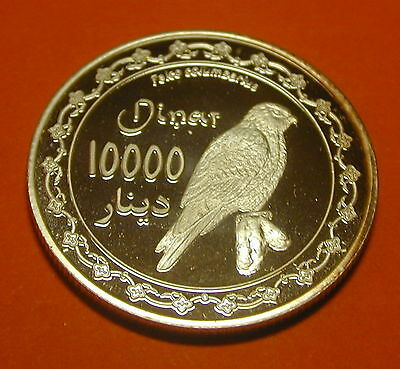 Kurdistan Iraq 10000 Dinars 2006. Silver Proof.