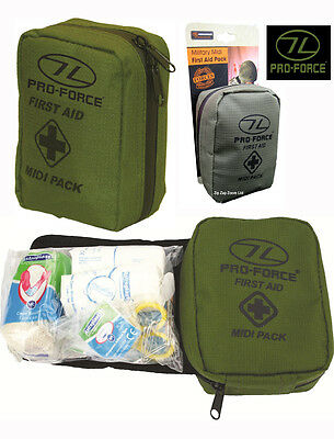 Army Military First Aid Travel Kit Pouch Medic Medical Survival Belt Pack Bag