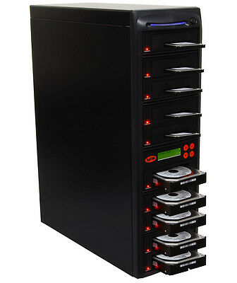 "Systor HDD/SSD Duplicator 1:9, Dual Port - Copy & Erase 3.5"" & 2.5"" Hard Drives"