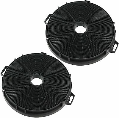 2 UNIVERSAL Carbon Charcoal Cooker Hood Filters for Kitchen Vent Extractor 210mm