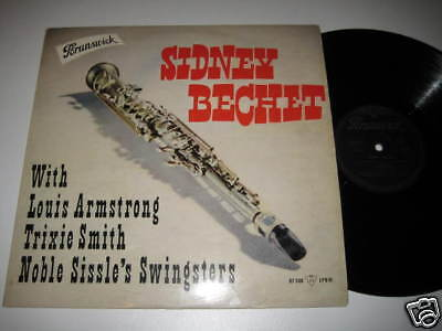 LP/SIDNEY BECHET wit Armstrong,Smith,../Brunswick 87508
