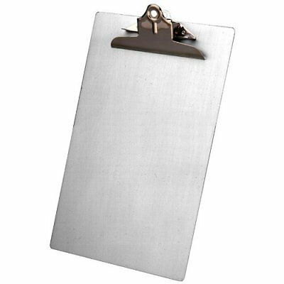 Saunders 22519 Recycled Aluminum Clipboard with High Capacity Clip - Legal Size