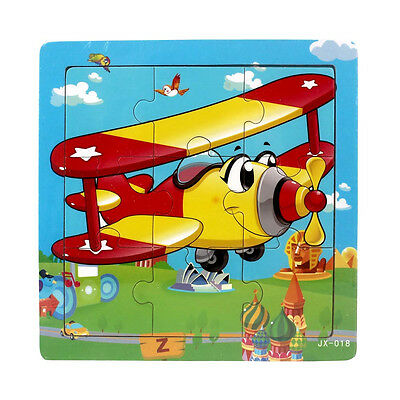 Cute Wooden Kids Jigsaw Toys For Children Education Learning Puzzles Toys Gifts