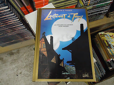 Rare Lanfeust De Troy N° 7 Couverture Hologramme Edition Or