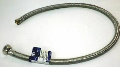 """48007 30"""" Faucet Sink Connector Water Supply Line 1/2 FIP x 3/8 compression"""