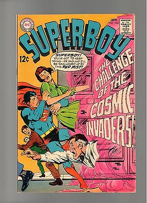 Superboy # 153   ( 1968 )    Neal Adams! Dc Comics  Sharp Copy!