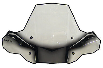 PowerMadd ProTek Standard Mount ATV Windshield w/o Headlight Cut-Out - 24571