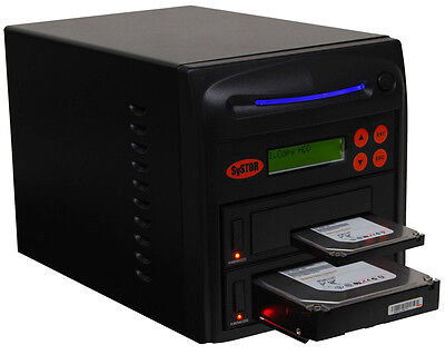 Systor High Speed Hard Drive Cloner, Dual Port - Copy & Erase 1 HDD/SSD