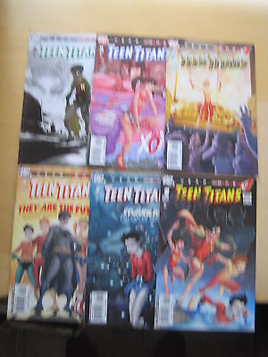 TEEN TITANS : YEAR ONE : COMPLETE 6 ISSUE SERIES by WOLFMAN & KERSCHL. DC. 2008
