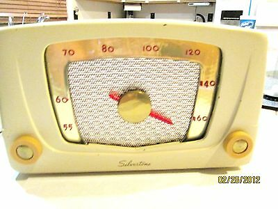 Vintage 1950s Sears Silvertone Instant Sound Electric