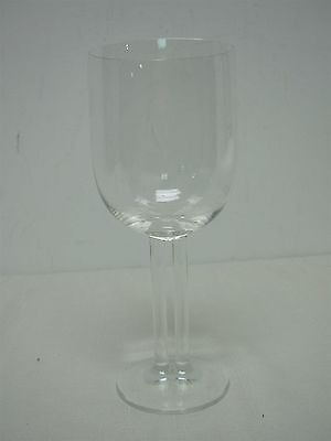 "Signed Rosenthal Studio Line Double Stem ""cupola"" 7 3/4"" Water Goblets Glasses"