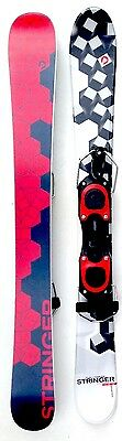 Sporten Stringer Fun Carver 99cm Skiboards with Bindings Snowblades Skiblades
