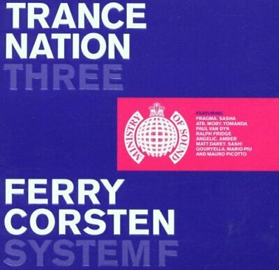 Various Artists : Trance Nation 3 CD Highly Rated eBay Seller, Great Prices
