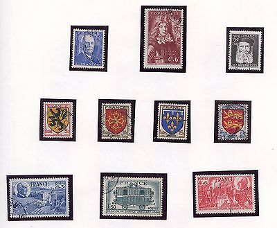 Stamp / Timbre / Timbres France Obliteres / Lot