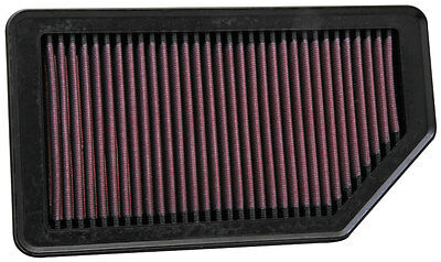 33-2472 K&N Replacement Air Filter HYUNDAI ACCENT 1.6L-L4; 2012 (KN Panel Replac