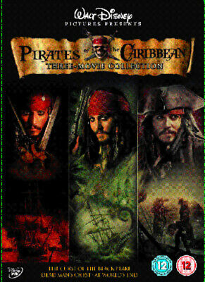 Pirates of the Caribbean Trilogy DVD (2007) Keith Richards