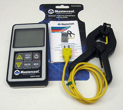 52246 Mastercool Superheat Subcool Calculator Digital A/C HVAC Refrigeration