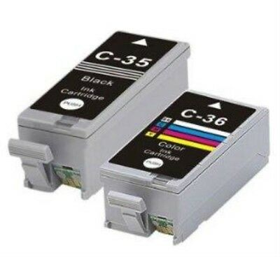 Compatible Black & Colour Ink Cartridge Pack for Canon Pixma IP100 IP110