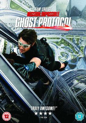 Mission: Impossible - Ghost Protocol DVD (2013) Tom Cruise, Bird (DIR) cert 12