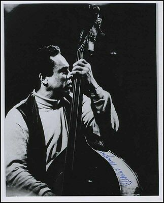 Charles MINGUS (Jazz): Signed Photograph