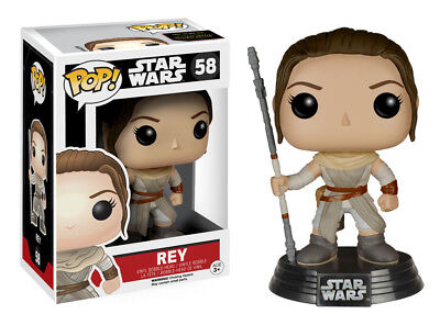 Star Wars The Force Awakens Rey Vinyl POP! Figure Toy #58 FUNKO NEW MIB