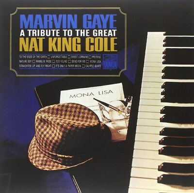 Marvin Gaye A Tribute To The Great Nat King Cole Lp Vinyl New 33Rpm