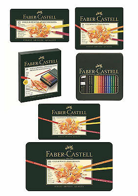 Faber-Castell Polychromos Artist Quality Color Pencils Set - From 12  to 120