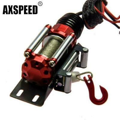 1 set Metal Steel Wired Winch Control Unit For 1:10 Crawler RC Car SCX10