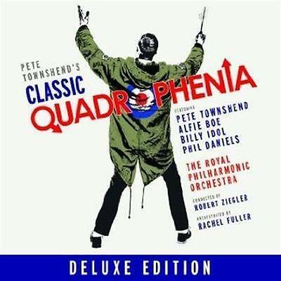 PETE TOWNSEND Classic Quadrophenia (Personally Signed by Pete) CD & DVD NEW